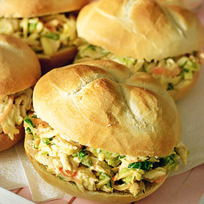 Nothing beats a tasty chicken salad! Easy step by step photo directions.