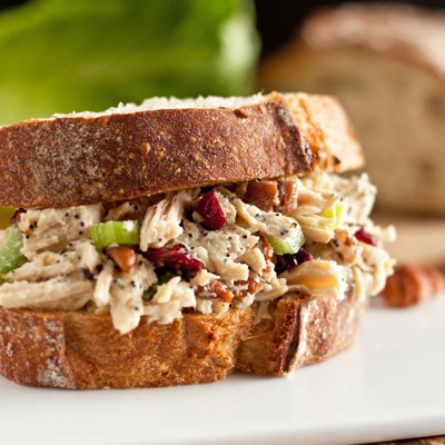 Sonoma Chicken Salad Sandwiches - my new favorite chicken salad. It is SO good, easy too!