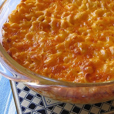 Politics aside, President Reagan really did have a great Mac and Cheese Recipe.