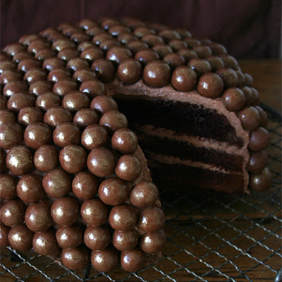 Chocolate Malt Cake, wow!