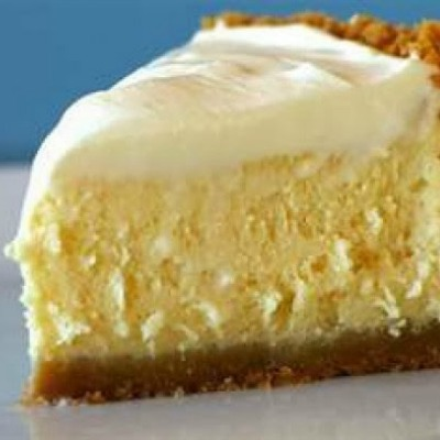 5 Minute ~ 4 ingredient No-bake Cheesecake